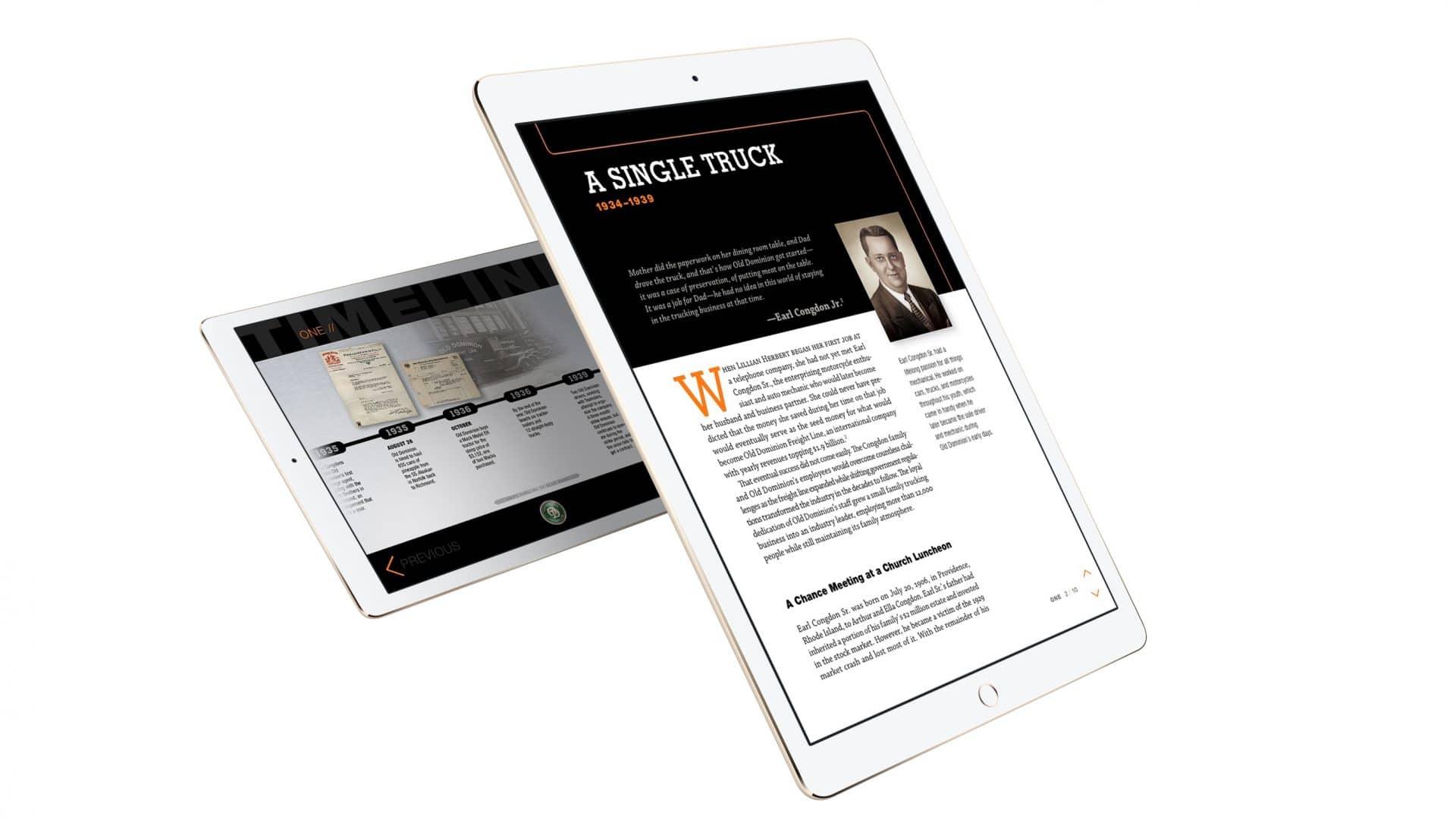 ODFL CustomSolutions iPad Coffee Table Books